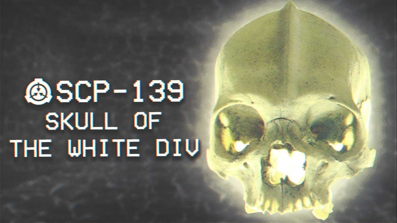 Scp 139 Possible Skull Of The White Div Keter Mind Affecting