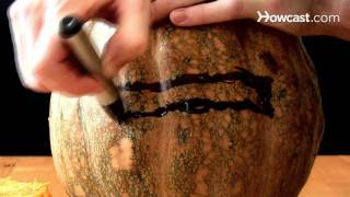 How To Carve A Cylon Pumpkin