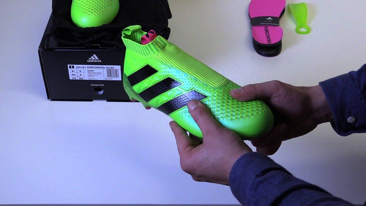 adidas ACE16+ PureControl FG AG Fotballsko  db2612f2a601c