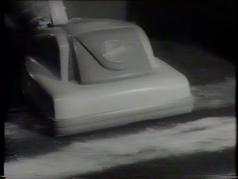 Vintage 1960s Hoover Junior Vacuum Cleaner Tv Commercial