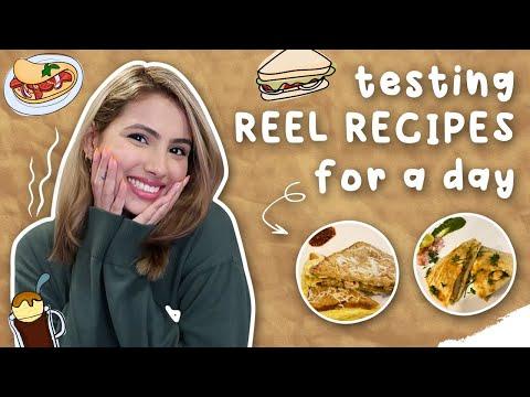 Testing Reel Recipes