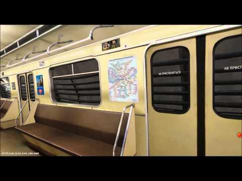 Смотреть Московское метро, продление Замоскворецкой линии до станции Алма-Атинская онлайн
