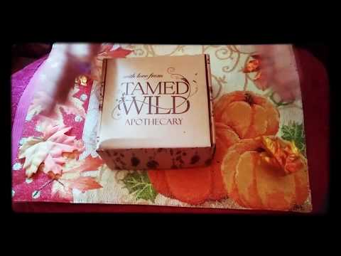 Tamed Wild Apothecary August 2017 unboxing )0(