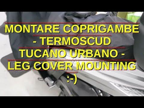 Tucano Urbano Leg cover Linuscud LEG MAN