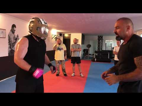 Fight Mentality & P.F.S. By Ahmet Kaydul Training scene Part 3