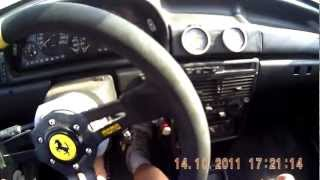 Fiat Uno Turbo  Vs Volkswagen Gol Nitro  - On Board To Fiat Expo Carreras 2011
