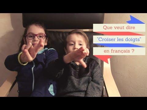 Croiser les doigts (apprendre le français)