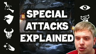 MKX Mobile. All special attacks explained. Buffs, debuffs, DOTs. All you need to know.