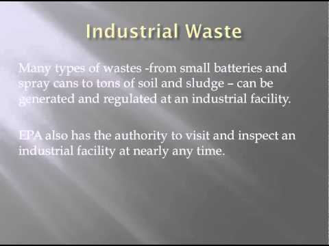 Hazardous Wastes Industrial Facility