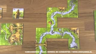 999 Games Speluitleg - Carcassonne Graaf, Koning en Consorten