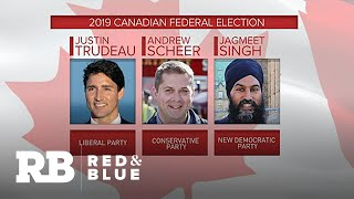 Canadians heading to the polls as Trudeau seeks 2nd term