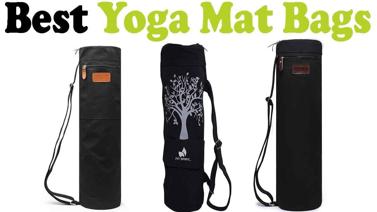 5 Best Yoga Mat Bags 2018 – Top 5 Yoga Mat Bags Reviews - YouTube ee4cb3fde889d