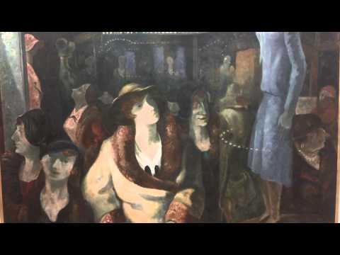 Les Vitrines 1927 Yves Alix 1890-1969 Centre Georges Pompidou Paris