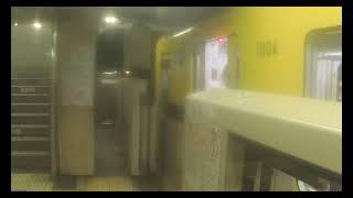 【東京メトロ銀座線】 1000系1104F 渋谷行き & 1000系1106F 浅草行き 三越前発着