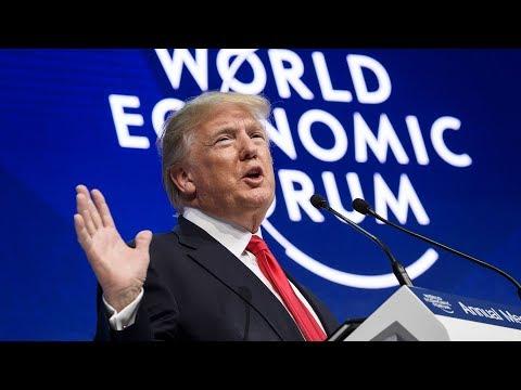 Watch live: Trump speaks at World Economic Forum in Davos, Switzerland