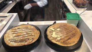 NUTELLA CAFE'S CREPES