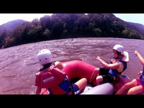 Zipline & Whitewater Rafting // ARBC Youth Retreat In NC!