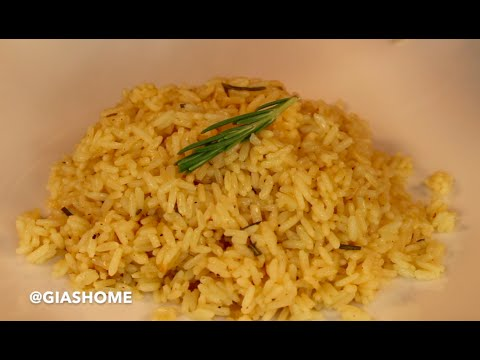 Rosemary Butter Rice