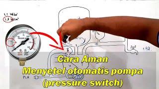 Cara Aman Menyetel Otomatis Pompa Pressure Swich Flow Switch Dan Apc Youtube