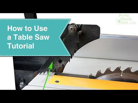 Table saw tutorial youtube greentooth Images
