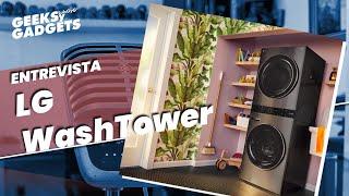 [ Entrevista ] LG WASH TOWER -…