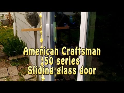 Panel Replacement On American Craftsman® 50 Series Gliding Patio ...