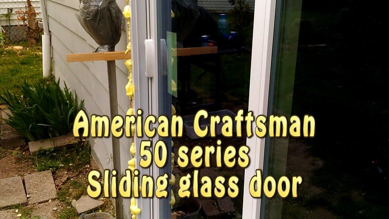 American Craftsman Anderson 50 Series $300 sliding glass door
