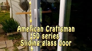 american craftsman anderson 50 series 300 sliding glass door