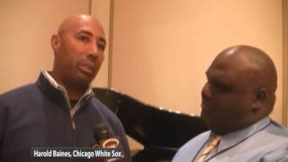 HAROLD BAINES, CHICAGO WHITE SOX & COACH MMAYDEN