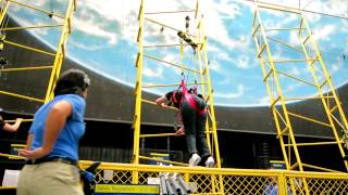 Astronaut Training Experience: Zero-Gravity Wall