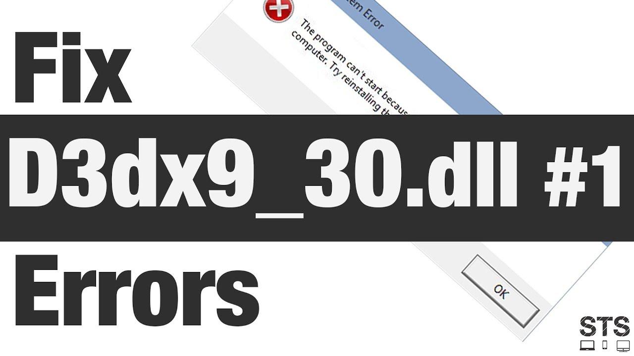 PES 2010 D3DX9 30.DLL TÉLÉCHARGER