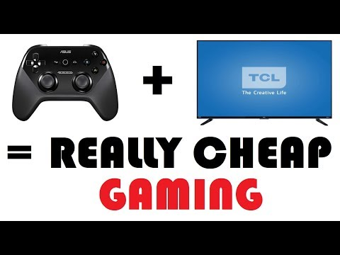 TCL TV - A Gaming Machine For $25!