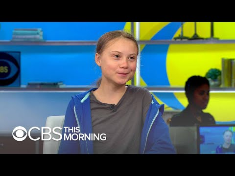 """Greta Thunberg on the """"gift"""" of Asperger&39;s in fighting climate change: """"We need people who think …"""