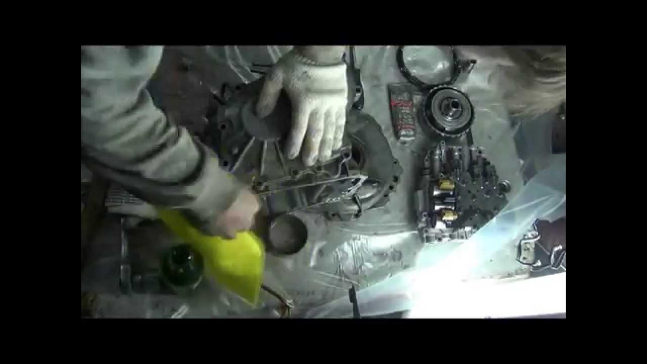Daihatsu YRV ремонт АКПП (часть 2 speed)