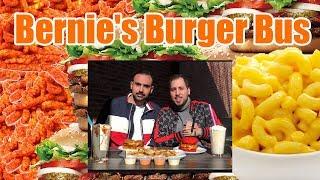 🔥🍔 Hot Cheetos Mac N Cheese Burger 🍔🔥- Bernie's Burger Bus