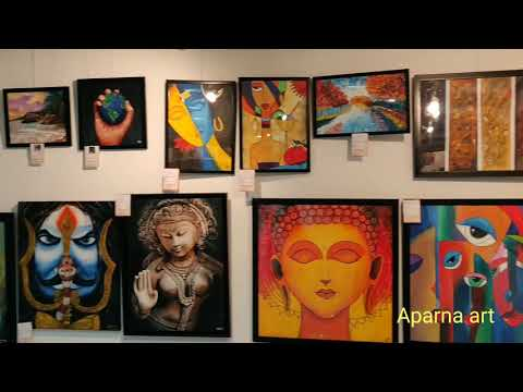 All India Fine Art Exhibition In Daira Art Gallery Hyderabad 2019 | Artworks Of Indian Artists