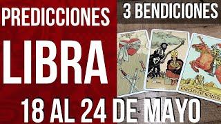 LIBRA! BENDICIONES: NO HABRA OBSTACULO QUE PUEDA CONTRA TI  Horóscopo Semanal Tarot