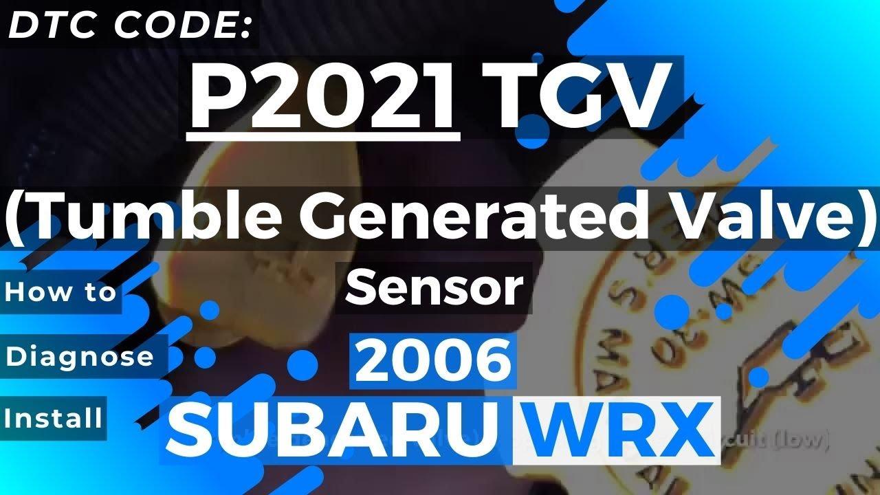 p tgv tumble generated valve sensor youtube
