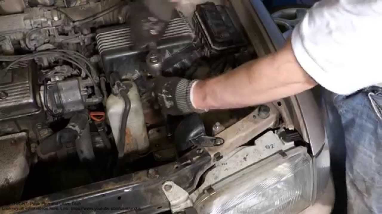 how to replace coolant reserve tank toyota corolla [ 1280 x 720 Pixel ]
