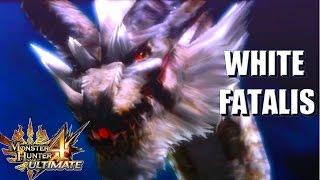 Monster Hunter 4 Ultimate: The White Fatalis (ミラルーツ)