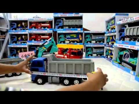 รถสิบล้อโม่ปูน รถแมคโครตักดิน รถบรรทุก จัดมาให้ ชุดใหญ่