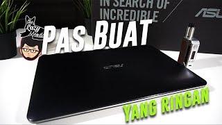 Review ASUS X555Q - Laptop 6 Jutaan Buat Game E-Sport ? - Lazy Tech