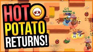 Best Mini Game in Brawl Stars! Supers EVERYWHERE!! Hot Potato!