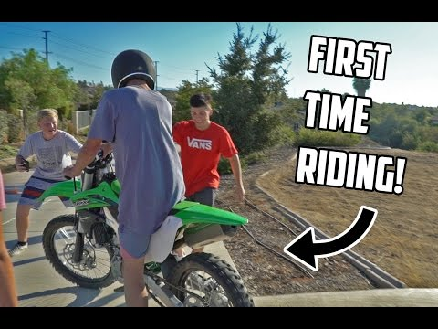 HOW NOT TO RIDE A DIRT BIKE!