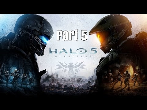 "Halo 5 Guardians Walkthrough Part 5- ""THIS GODD#NM FOOL AGAIN?!"""