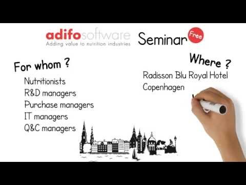 Adifo Feed Industry Solution Seminar - Copenhagen