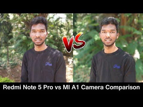 Redmi Note 5 Pro vs MI A1 Camera Comparison | Redmi Note 5 pro vs MI A1 Camera Which one is better.?
