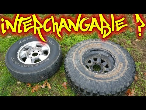 Can you Still Swap Toyota and Chevy 6 lug Wheels?