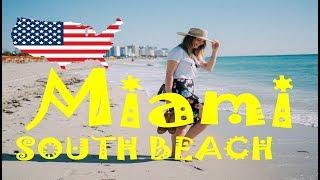 ✈️6 minutes in South Beach, Ocean Drive, Miami, Florida, USA - CityTrip (HD1702)
