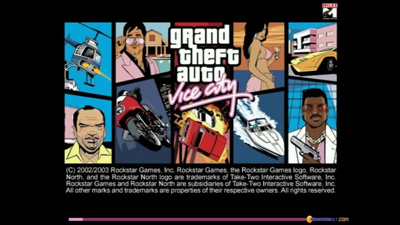Grand Theft Auto Vice City Gameplay Pc Game